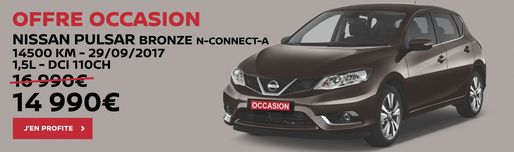 nissan troyes offre occasion pulsar bronze